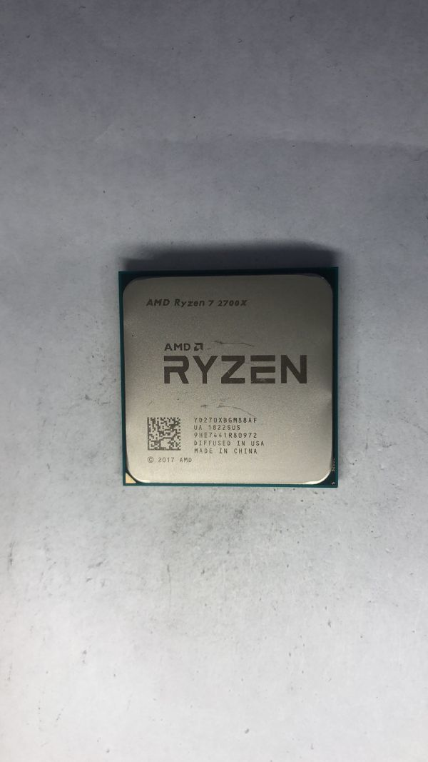 CPU AMD Ryzen7 2700X 3.70Ghz AM4 ジャンク