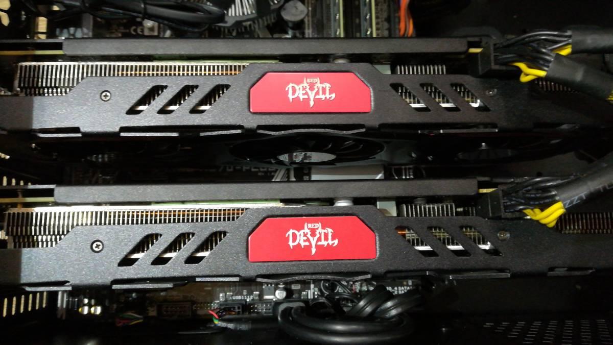 【動作確認済み!】自作ゲーミングデスクトップPC/激速 i7搭載/4K4画面/AMD CrossFire/新品SSD240+HDD1TB+メモリ16GB/Windows10pro_画像4