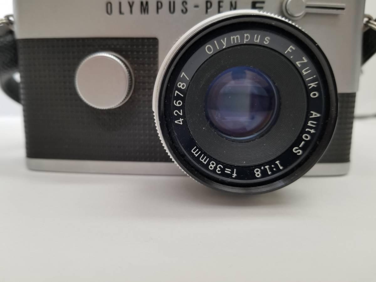 オリンパス OLYMPUS PEN-FT F.Zuiko Auto-S f-38mm 1:1.8 一眼レフカメラ_画像2