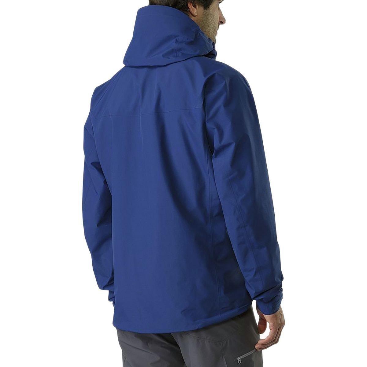 ◆正規品◆新品未使用◆アークテリクス アルファSL ジャケット メンズ M(L) ゴアテックス マウンテンパーカー ブルー 軽量◆定価46440円_画像8