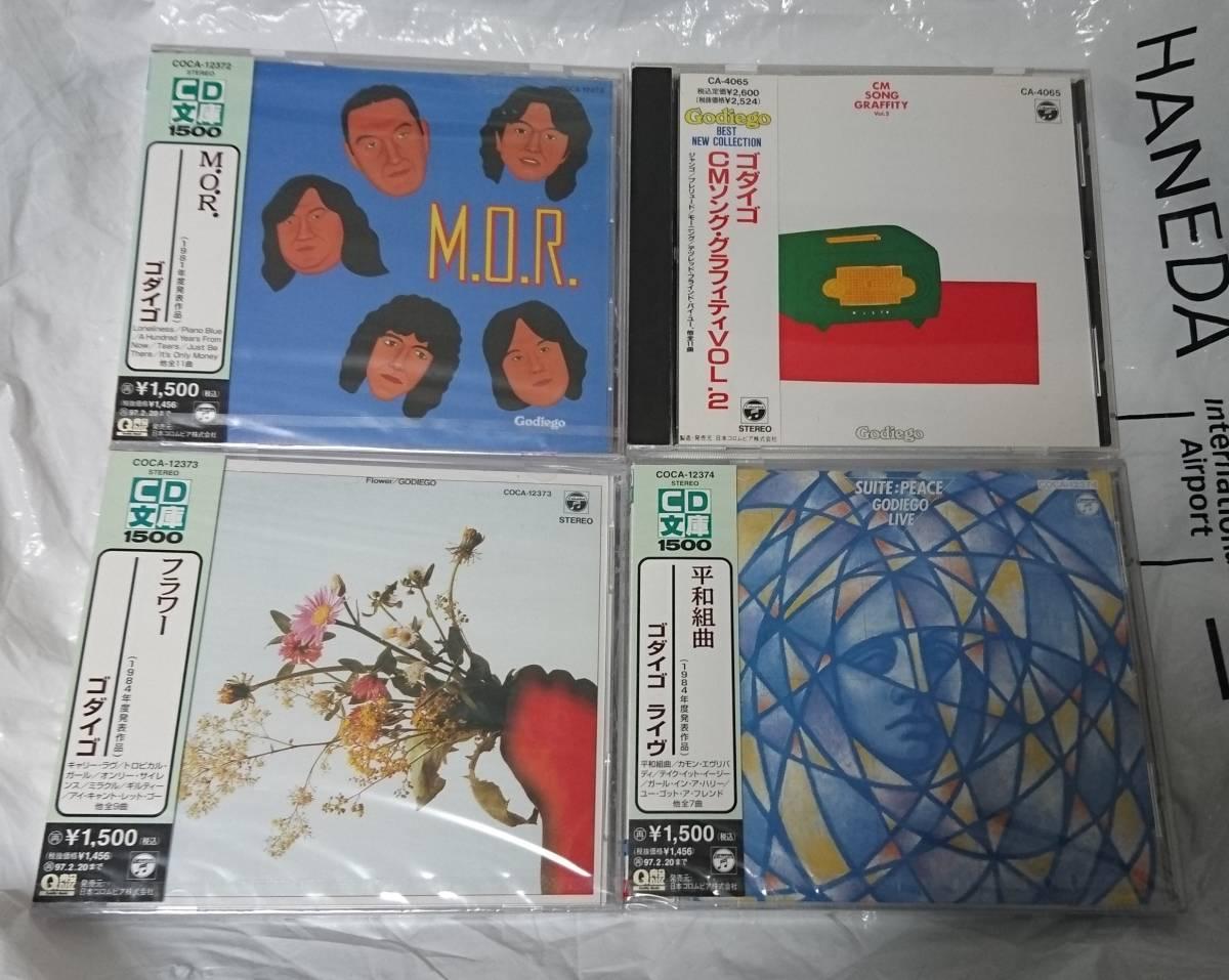 ゴダイゴ 全オリジナルアルバム14タイトル 全て初CD化もの(半数近く未開封) 1989年~ 1995年発売_画像3