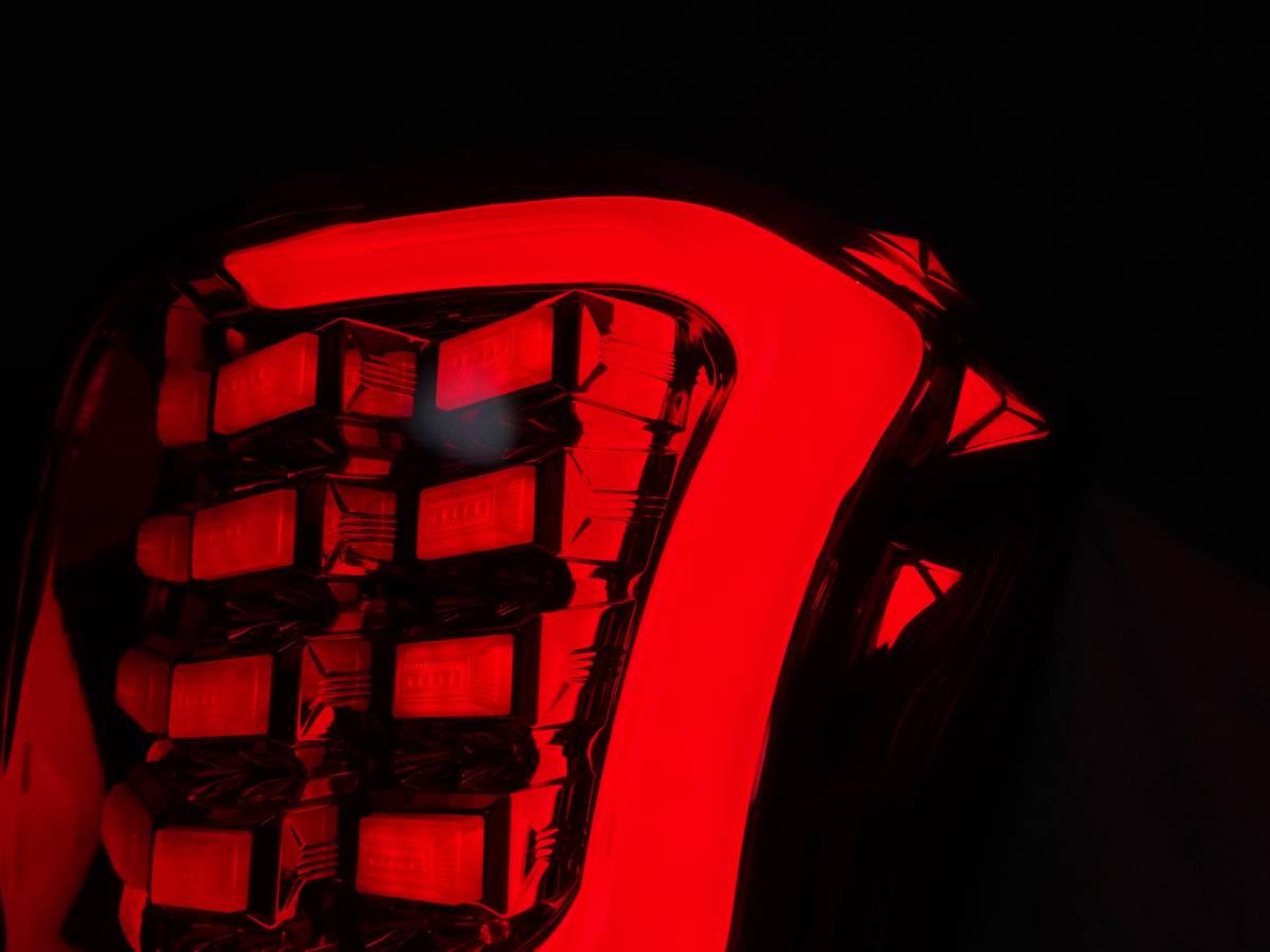 点灯確認済 フォレスター SJ5 SJG COLIN コーリン シャレード フルLEDテールレンズ テールランプ テールライト 左右 アクリル _画像5