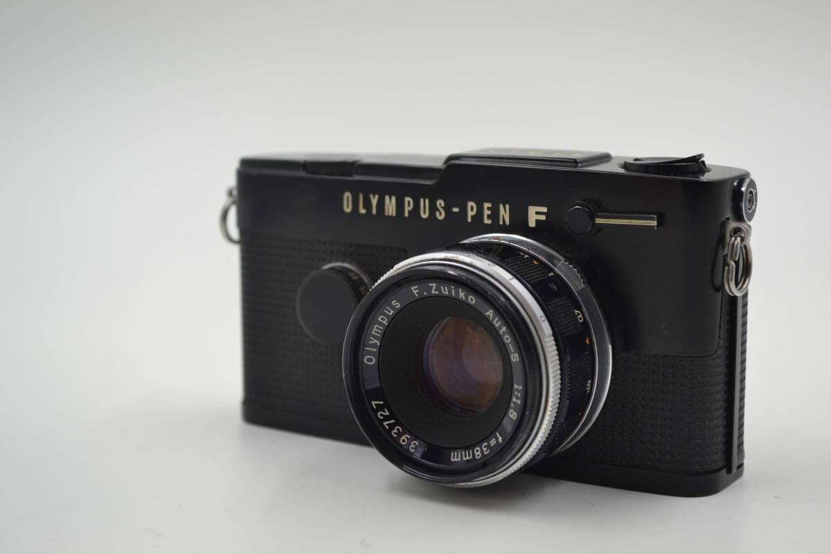 オリンパス Olympus Pen-FT Blackフィルムカメラ ヤ30
