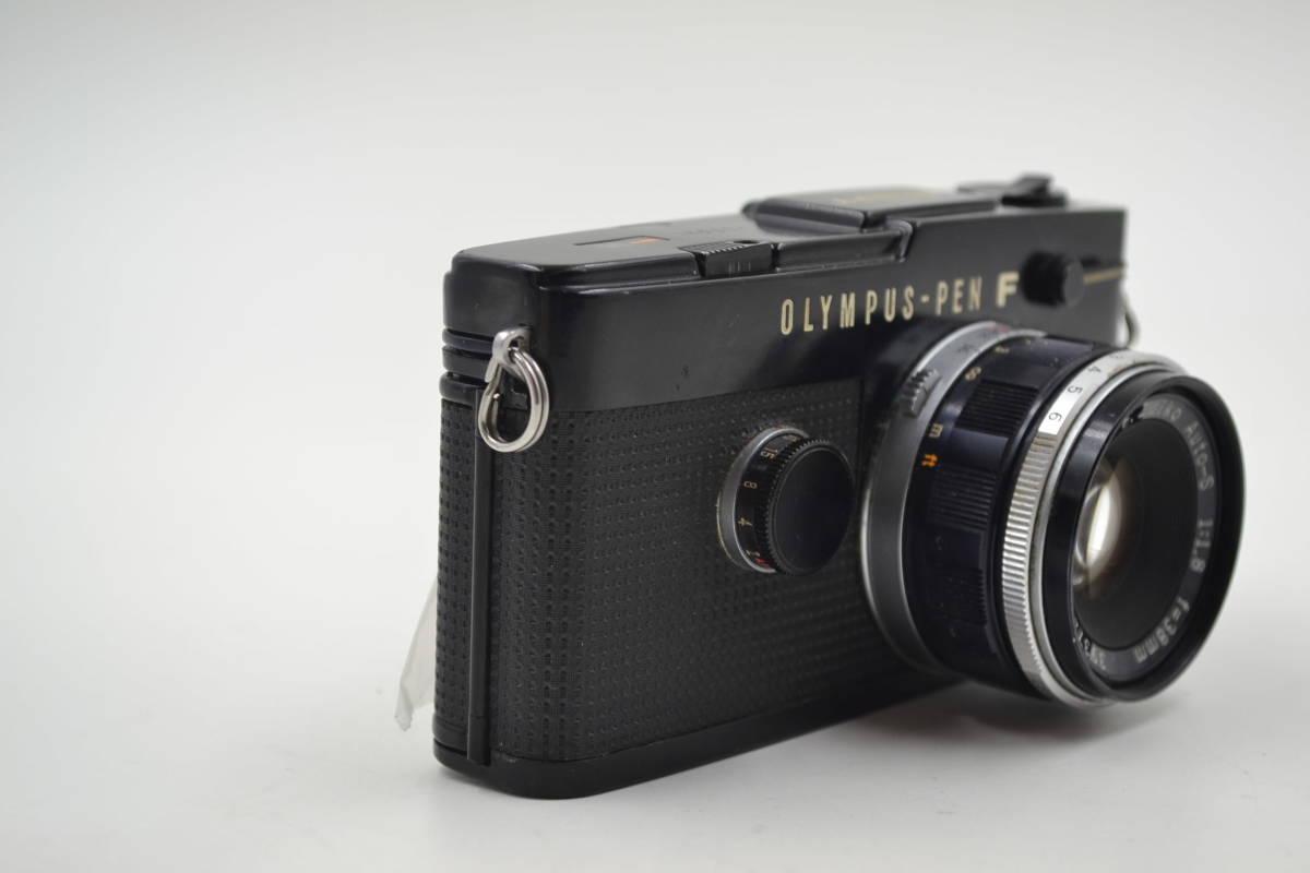オリンパス Olympus Pen-FT Blackフィルムカメラ ヤ30_画像3