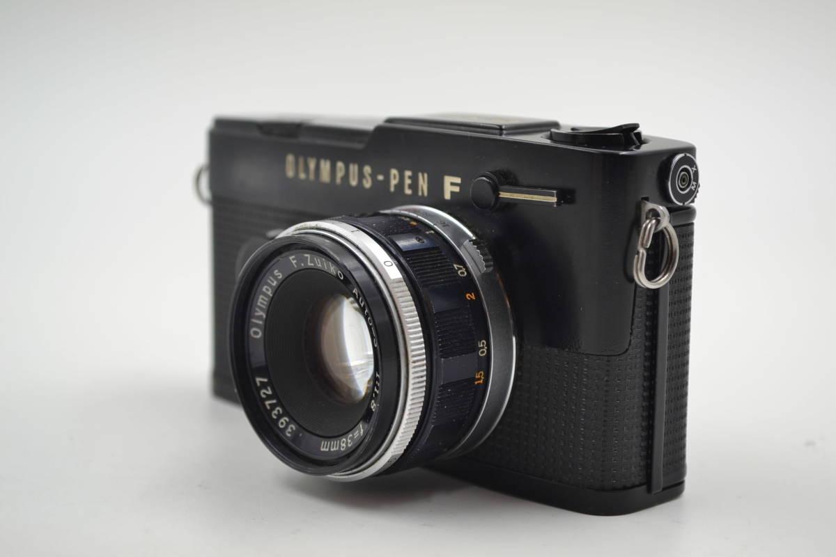 オリンパス Olympus Pen-FT Blackフィルムカメラ ヤ30_画像5