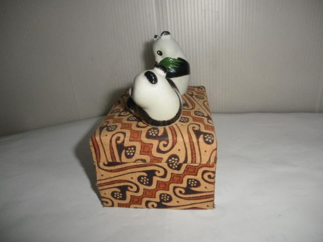 @@@ 中国パンダ パンダ 可愛いパンダ インテリア 雑貨 癒しの飾り物 レトロ調 陶器 小物 置物 人形 定形外500円_画像8