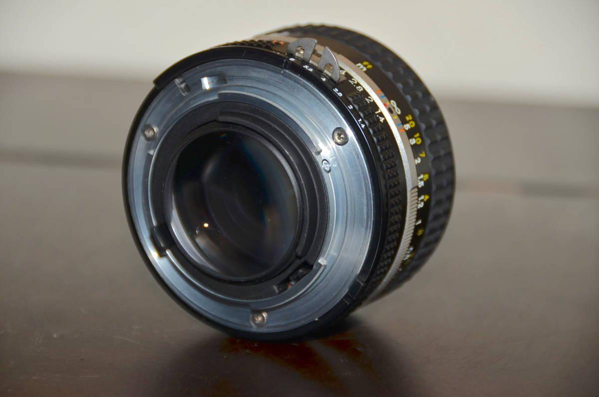 Nikon FA ニコン フィルムカメラ ブラック Nikkor 50mm f1.4 Ai-S レンズ National PE-200 S ストロボ ケース ストラップ 付き_画像9