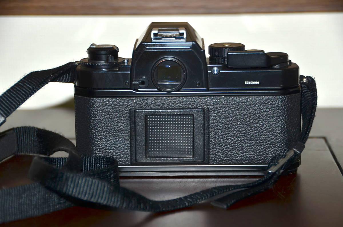 Nikon FA ニコン フィルムカメラ ブラック Nikkor 50mm f1.4 Ai-S レンズ National PE-200 S ストロボ ケース ストラップ 付き_画像4