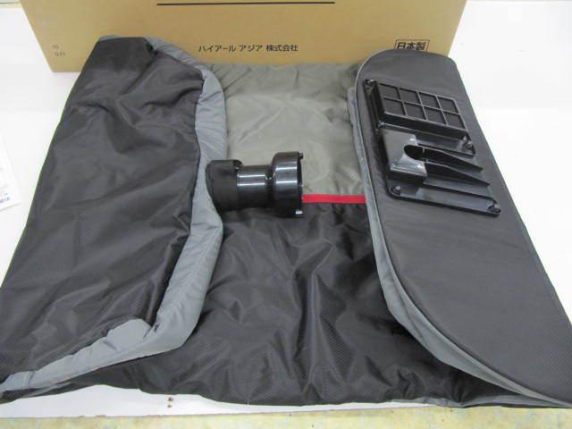 新品 衣類 エアウォッシャー AQUA AHW-SR1 グロリアスグレー水を使わず空気(オゾン)で洗う(除菌・消臭) 衣類 洗濯機 機能特化型_画像2