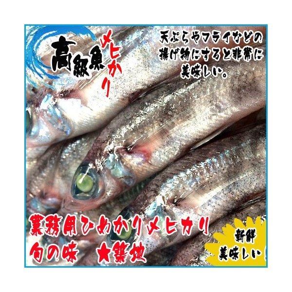 ひめかり メヒカリ 1kg  旬の味_画像1
