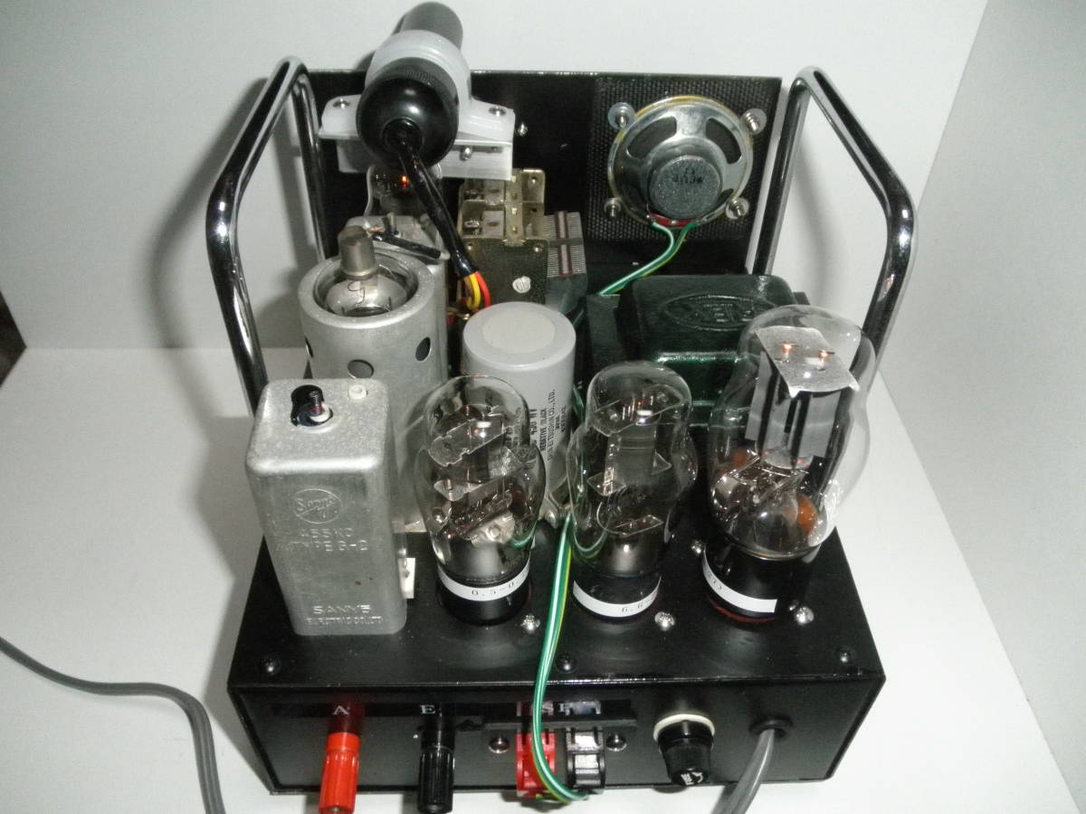 ***ジャンクで作った真空管ラジオ・5球スーパーヘテロダイン_画像4