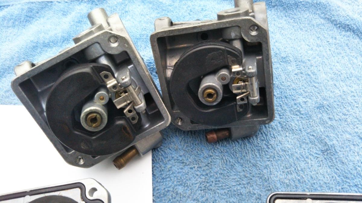 トーハツ マーキュリー4スト 2馬力 3.5馬力 対応 キャブレター ケイヒン製 中古品_画像4