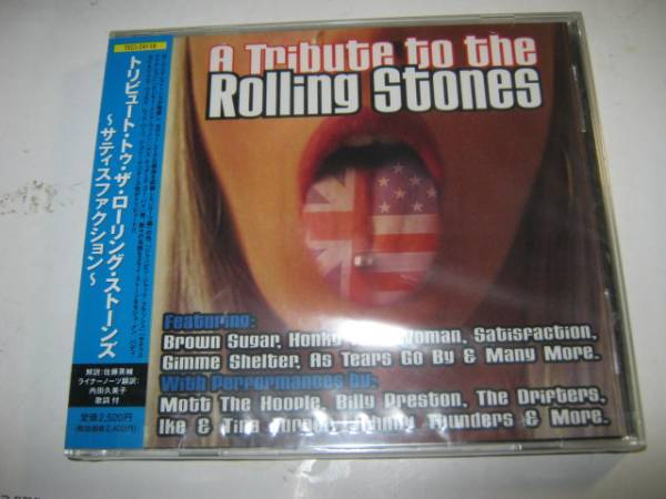 V.A / A TRIBUTE TO THE ROLLING STONES 帯付CD 新品 MICK JAGGER KEITH RICHARDS ミックジャガー キースリチャーズ _画像1