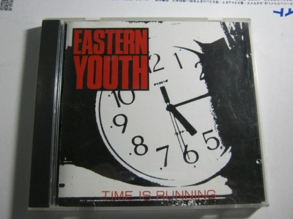 EASTERN YOUTH イースタンユース/TIME IS RUNNING CD 鉄鎚_画像1