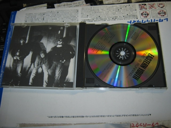 EASTERN YOUTH イースタンユース/TIME IS RUNNING CD 鉄鎚_画像2