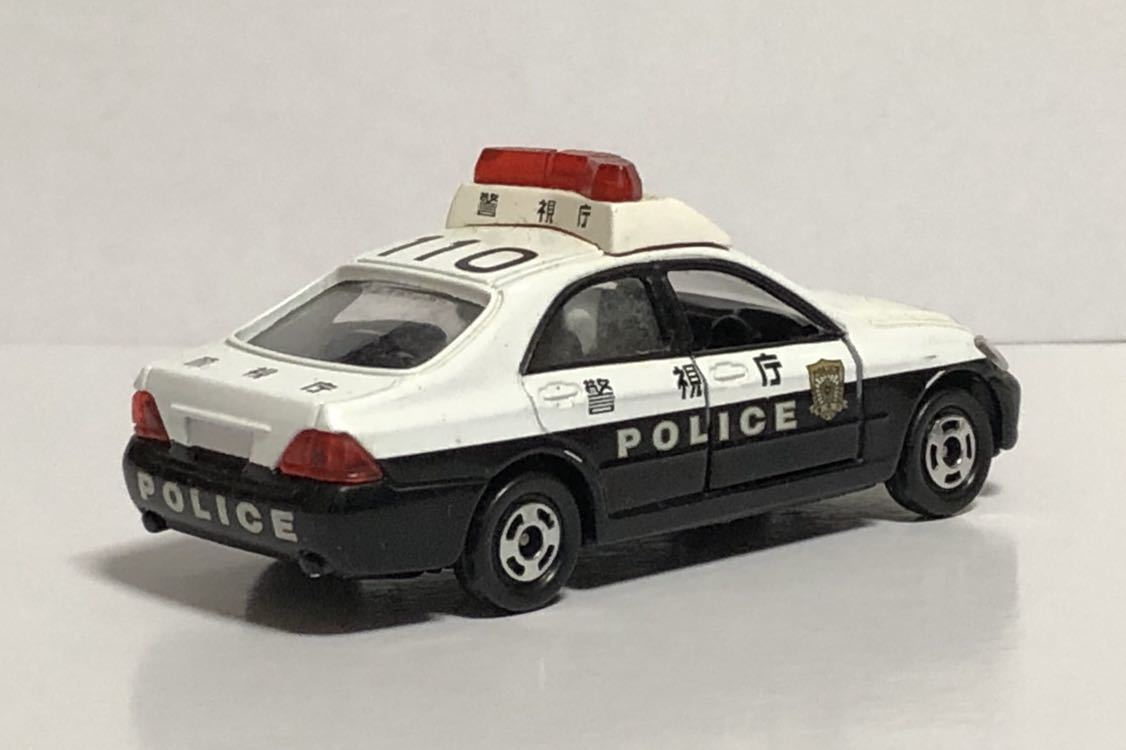 絶版 赤箱 トミカ 110 トヨタ クラウン パトロールカー パトカー 警視庁 警察 police ゼロクラウン ゼロクラ 180 廃盤 希少 18 TOYOTA 模型_画像3