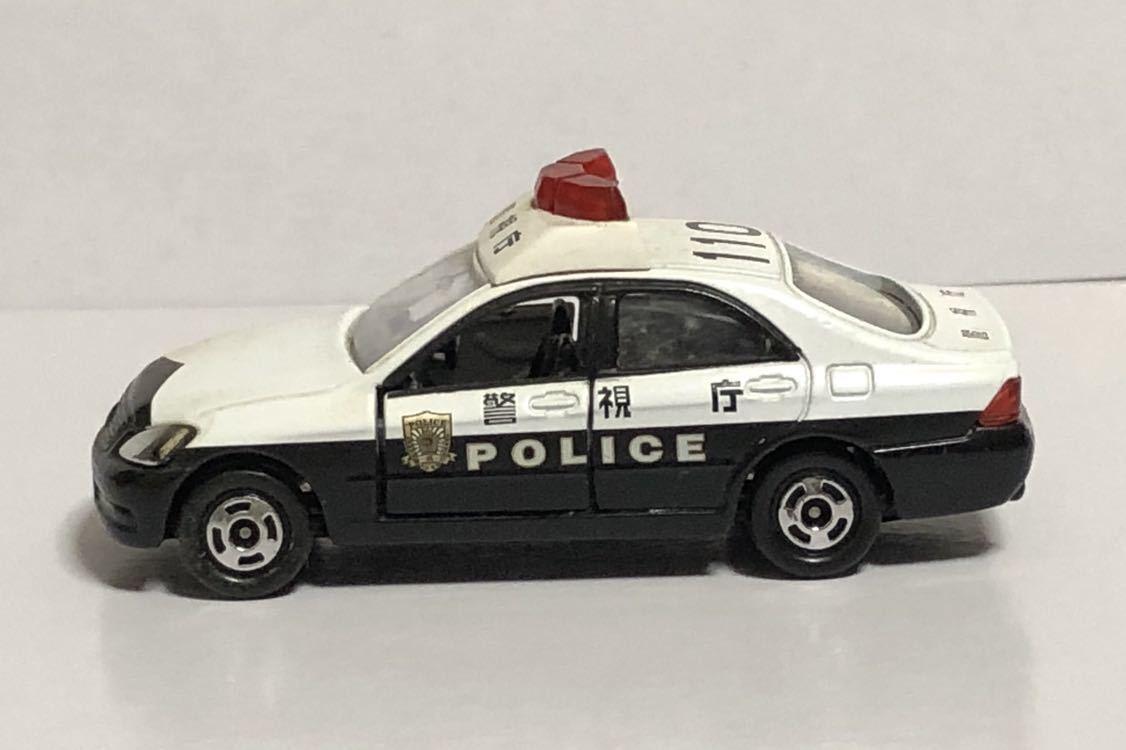 絶版 赤箱 トミカ 110 トヨタ クラウン パトロールカー パトカー 警視庁 警察 police ゼロクラウン ゼロクラ 180 廃盤 希少 18 TOYOTA 模型_画像6