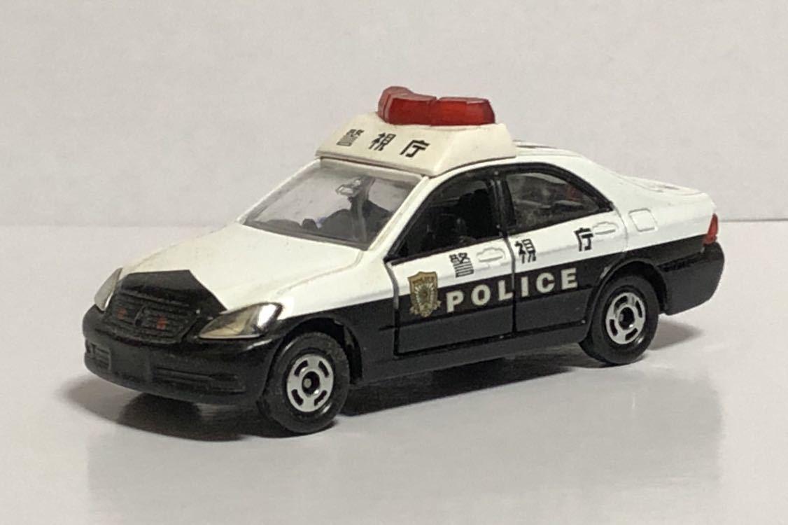 絶版 赤箱 トミカ 110 トヨタ クラウン パトロールカー パトカー 警視庁 警察 police ゼロクラウン ゼロクラ 180 廃盤 希少 18 TOYOTA 模型_画像2