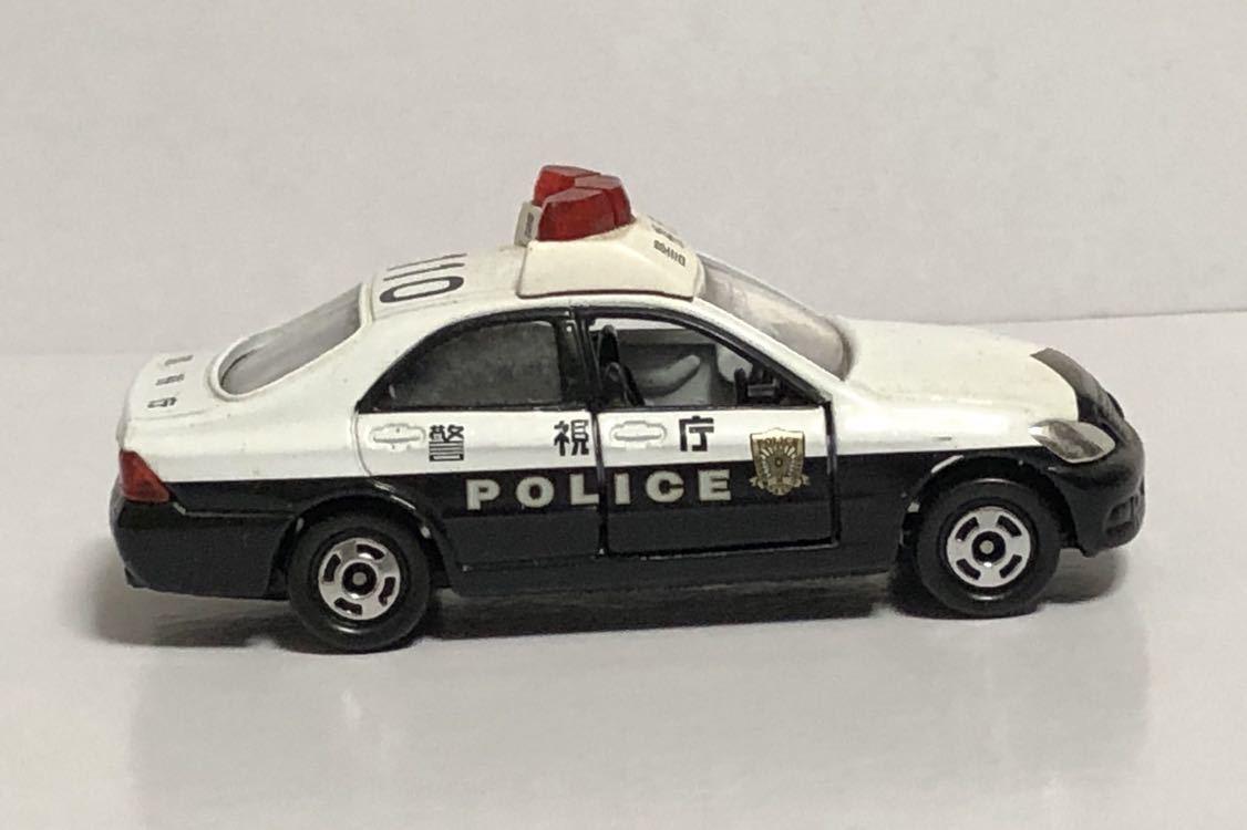 絶版 赤箱 トミカ 110 トヨタ クラウン パトロールカー パトカー 警視庁 警察 police ゼロクラウン ゼロクラ 180 廃盤 希少 18 TOYOTA 模型_画像7