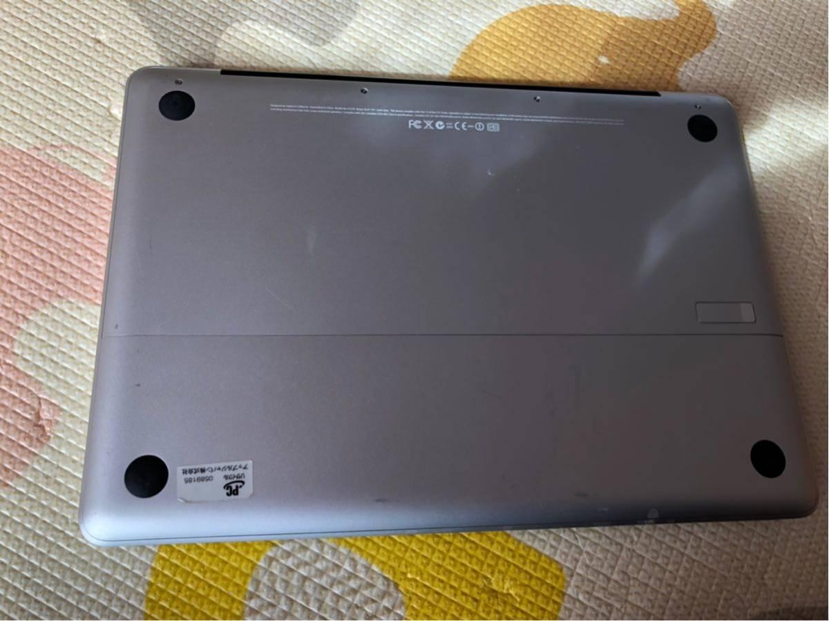 ジャンク品 Apple MacBook A1278 2008 _画像6