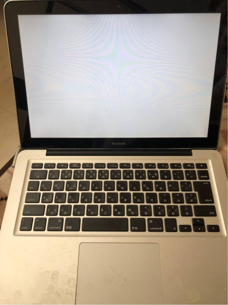 ジャンク品 Apple MacBook A1278 2008