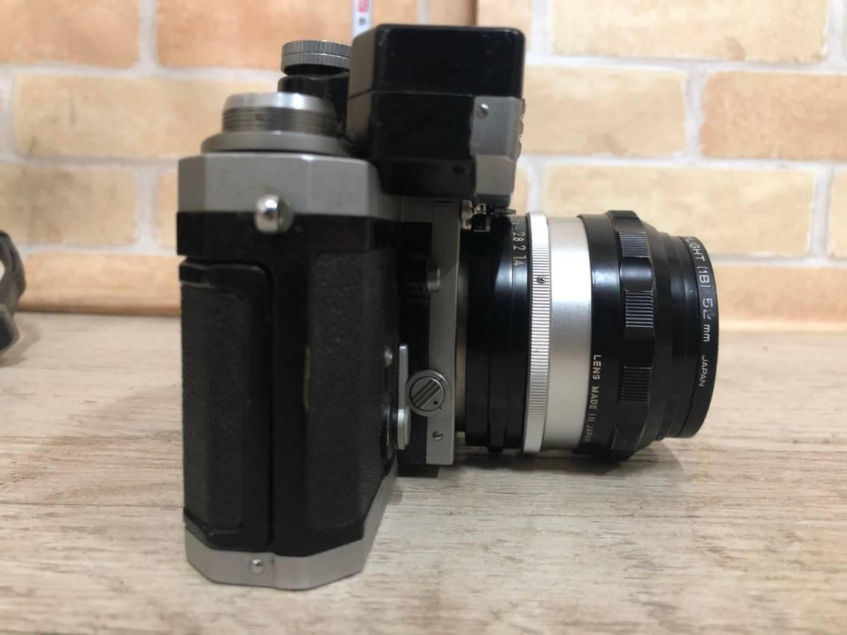 M978 ⑧ Nikon フィルム一眼レフカメラ F レンズNIKKOR-S・C Auto1:1.4F=50㎜ 動作保証無し 現状品_画像5