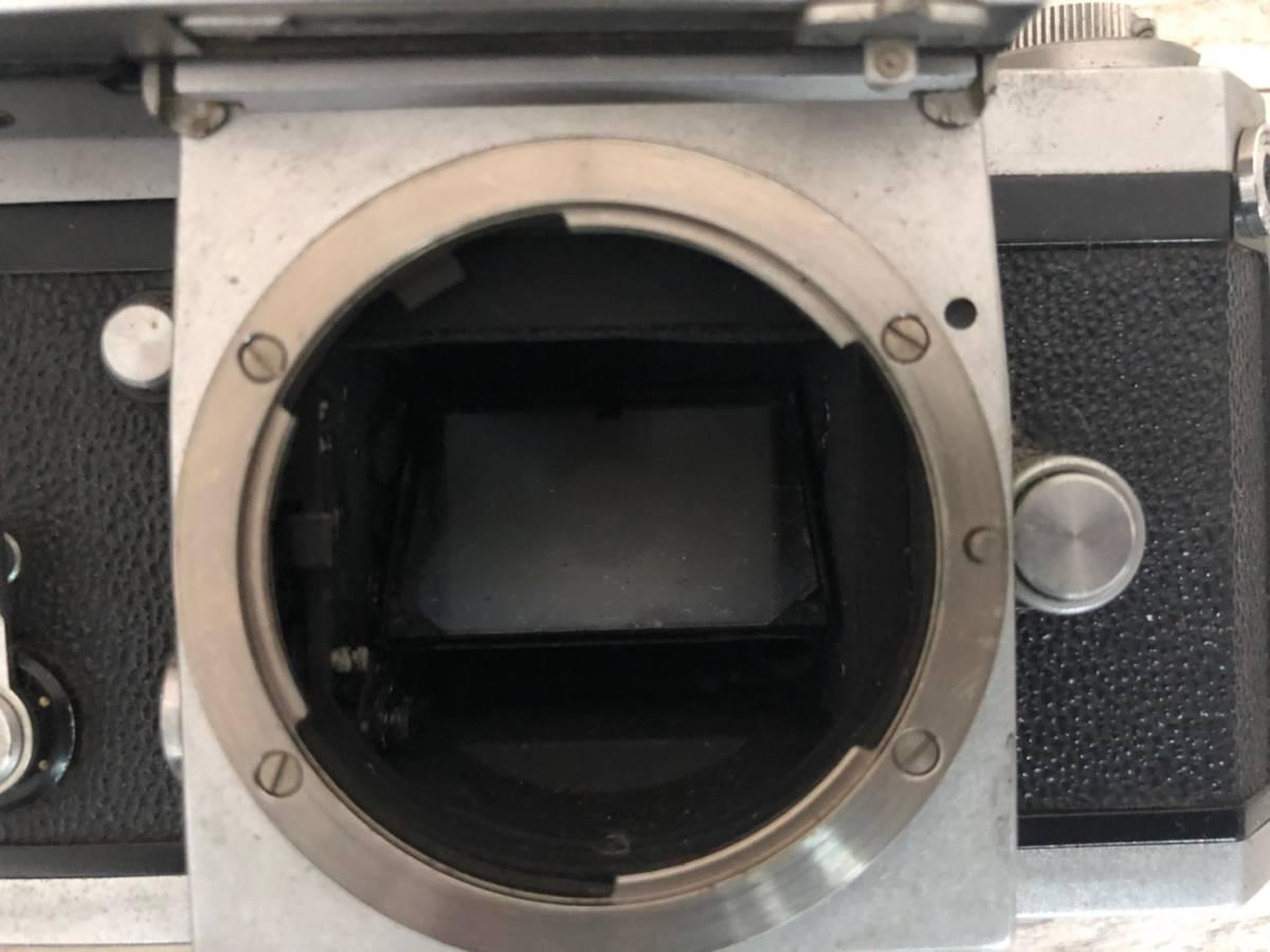 M978 ⑧ Nikon フィルム一眼レフカメラ F レンズNIKKOR-S・C Auto1:1.4F=50㎜ 動作保証無し 現状品_画像7
