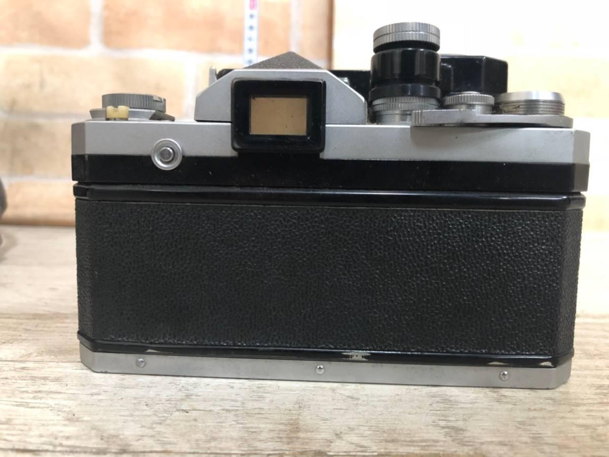 M978 ⑧ Nikon フィルム一眼レフカメラ F レンズNIKKOR-S・C Auto1:1.4F=50㎜ 動作保証無し 現状品_画像4