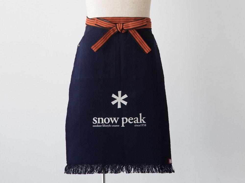 送料無料★スノーピーク 非売品ポイントギフト 前掛け 新品未開封 snow peak★_画像3