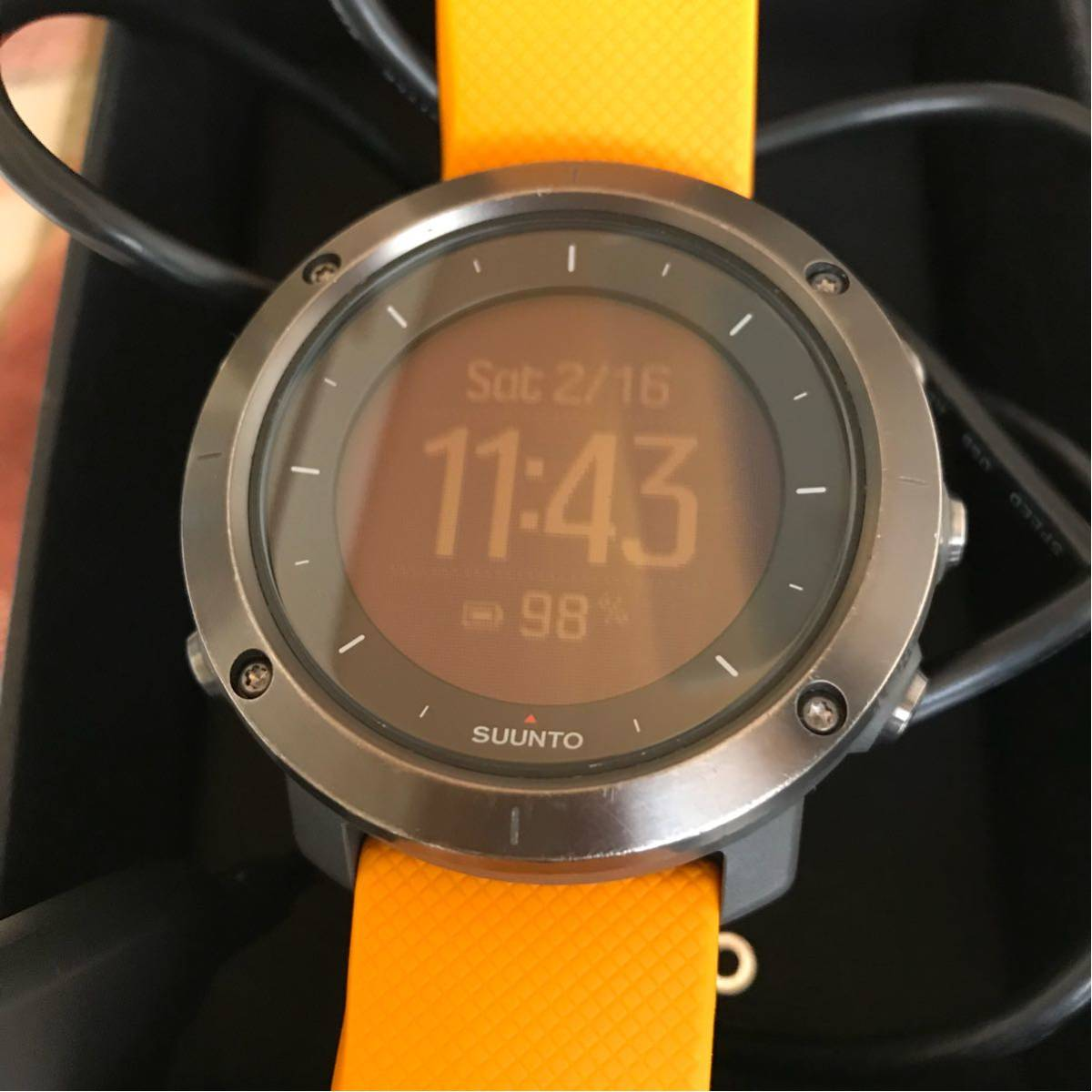635c9b478c 代購代標第一品牌- 樂淘letao - Suunto Traverse Amber GPSナビ気圧計電子コンパスミルスペック即決スントトラバース アンバー100M防水アウトドア登山充電式