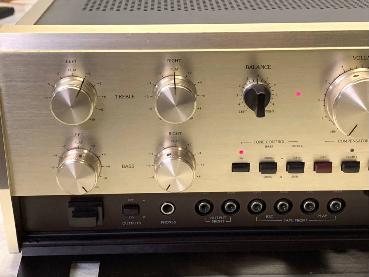 [ Junk a little with defect control amplifier ]Accuphase C-200X