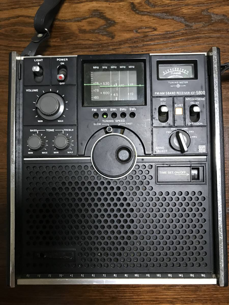 SONY ICF-5800 ジャンク品