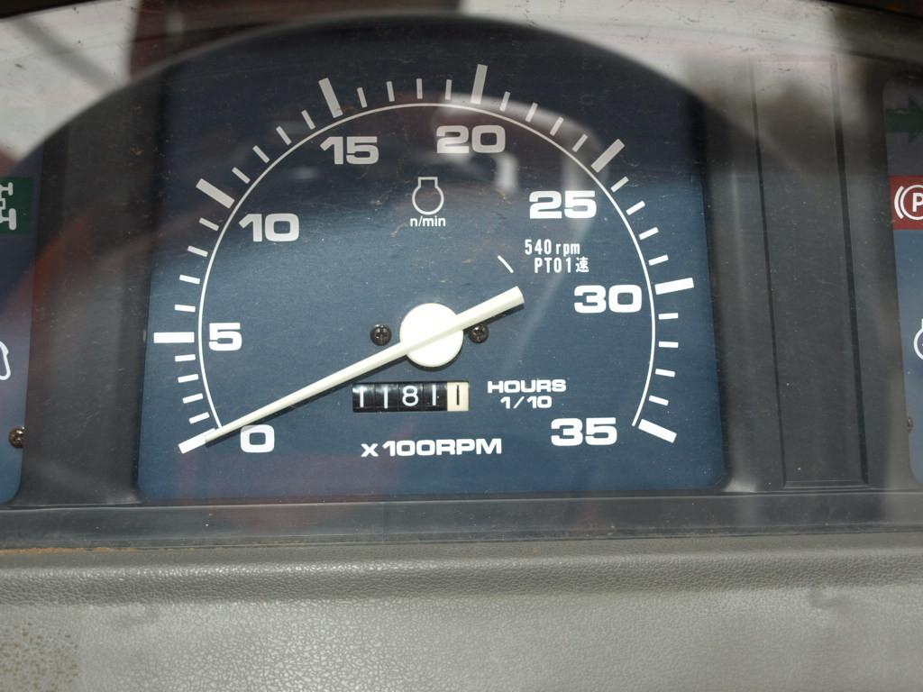 ヤンマー トラクター AF230 22馬力 4WD 深浅回動ローターリー 1181時間_画像6
