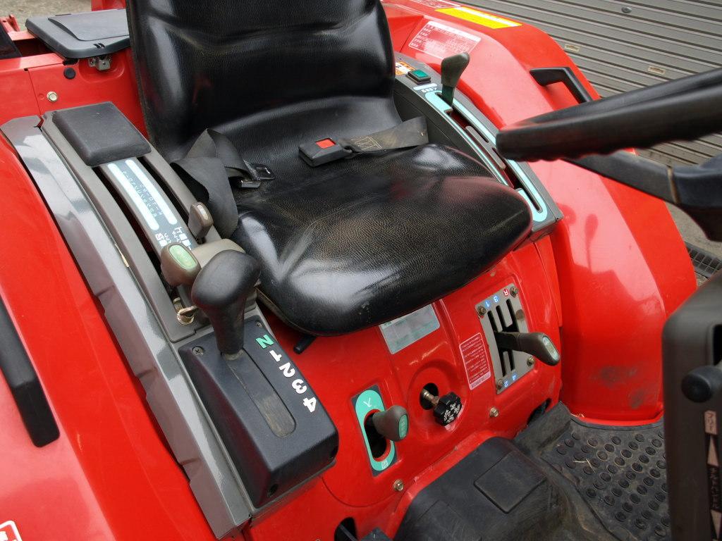 ヤンマー トラクター AF230 22馬力 4WD 深浅回動ローターリー 1181時間_画像7