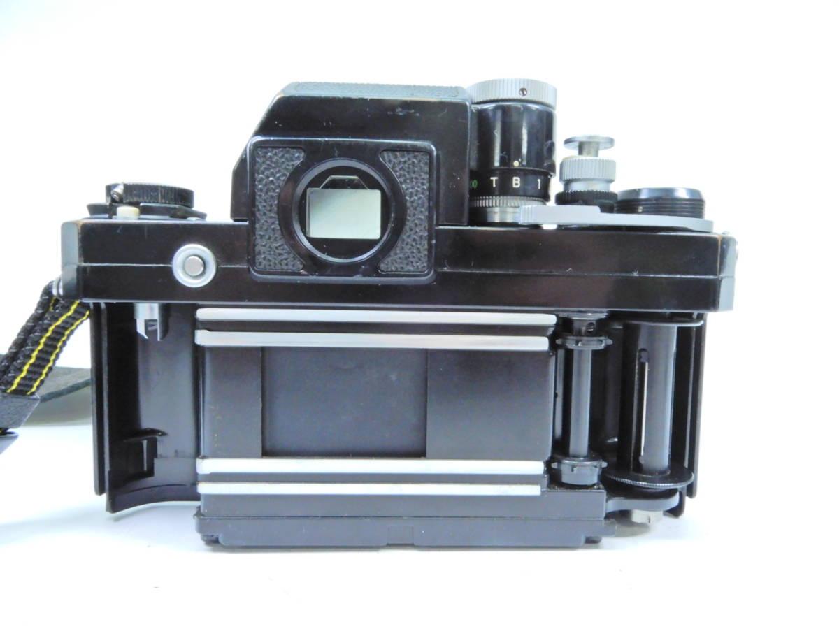 NIKON ニコン F フォトミック レンズ NIKKOR-S AUTO 50mm 1:1.4 シャッター確認済み 一眼レフカメラ ブラックボディ マニュアルフォーカス_画像5