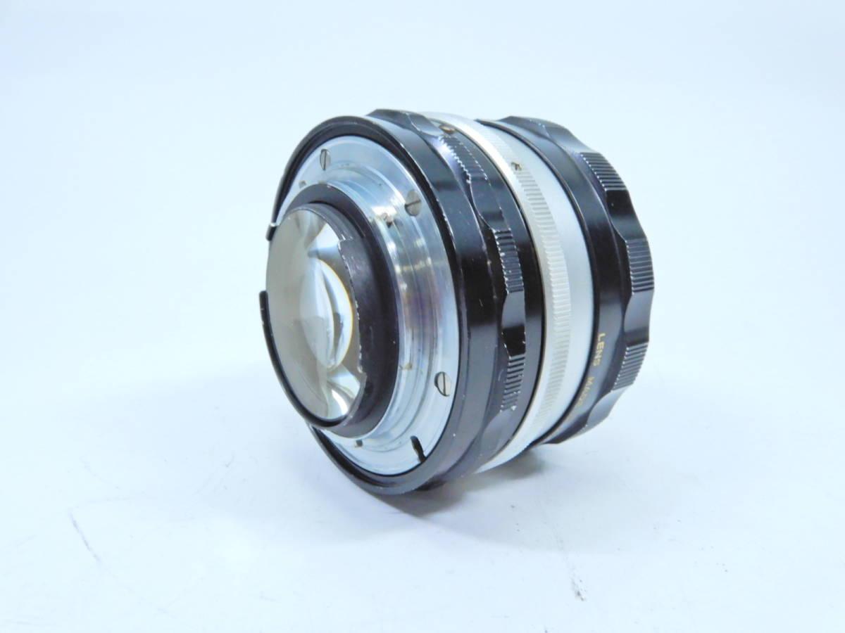 NIKON ニコン F フォトミック レンズ NIKKOR-S AUTO 50mm 1:1.4 シャッター確認済み 一眼レフカメラ ブラックボディ マニュアルフォーカス_画像10