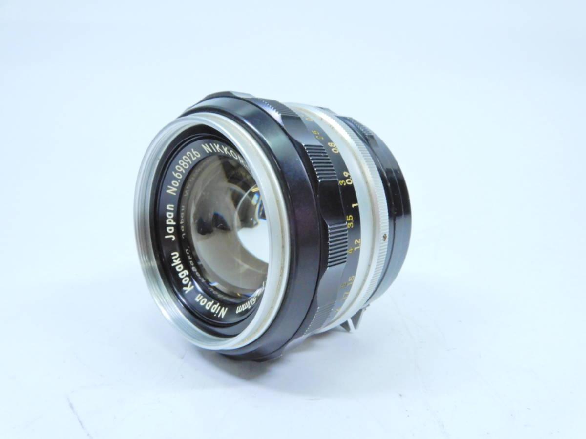 NIKON ニコン F フォトミック レンズ NIKKOR-S AUTO 50mm 1:1.4 シャッター確認済み 一眼レフカメラ ブラックボディ マニュアルフォーカス_画像8