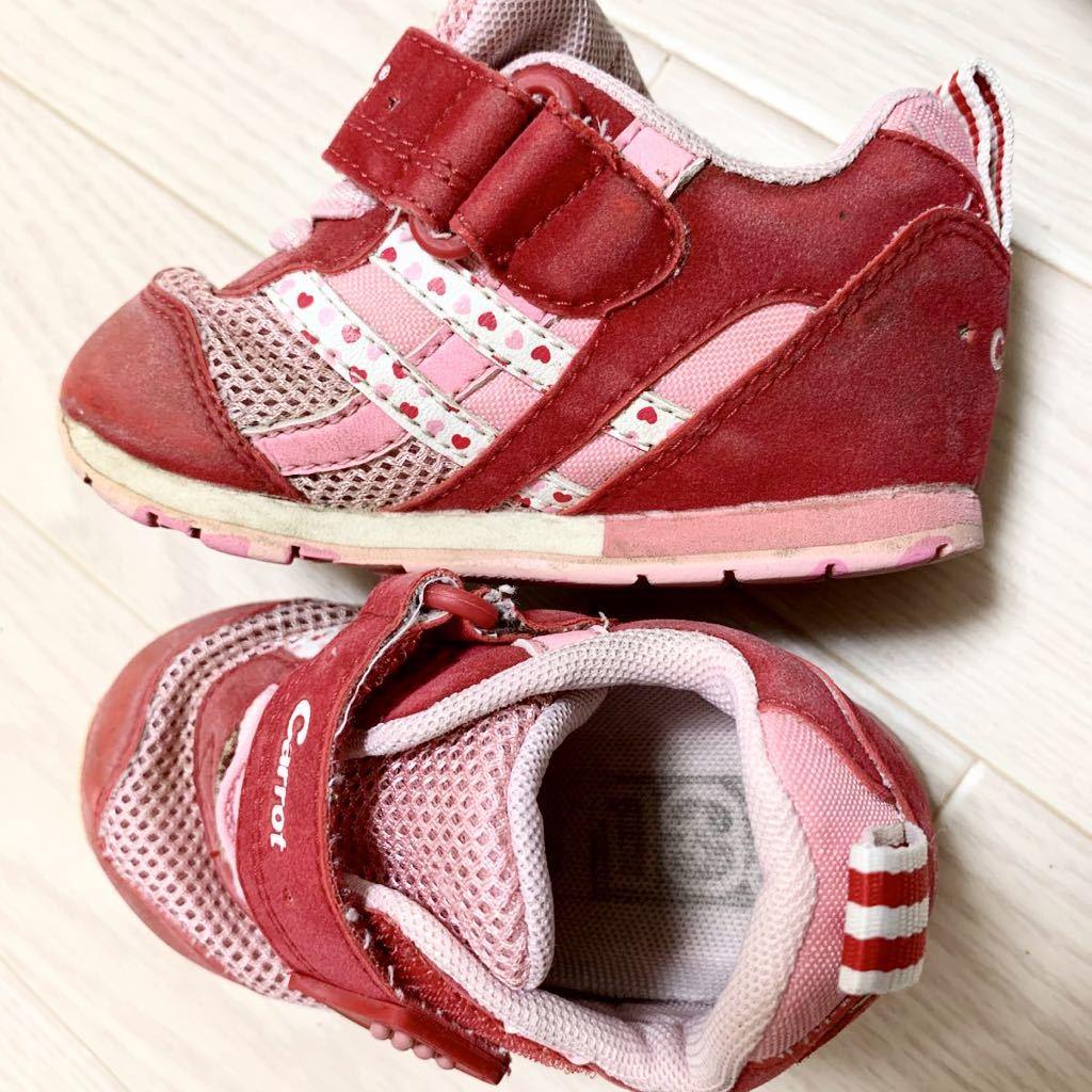 3484a6077abd6 ベビーシューズ12センチ12.5センチ13センチまとめて沢山ファーストシューズcarrot アンパンマン新幹線赤ちゃん靴4足セット. 商品數量: :1