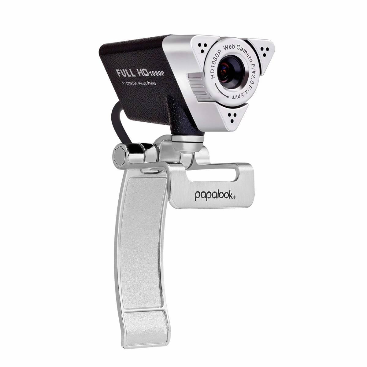 新品●PAPALOOK PA187 ウェブカメラ web カメラ Webカム HD画質 ネットワークカメラ C6480