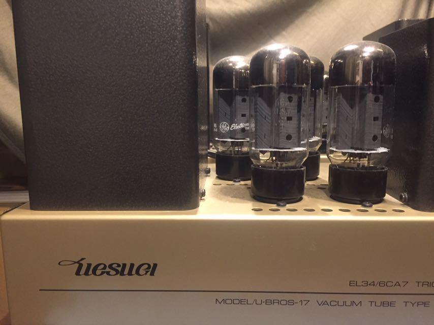 UESUGI真空管パワーアンプ、上杉研究所U・BROS-17ペア 動作品、販売時定価\760.000 U・BROS-11の後継機。_画像10