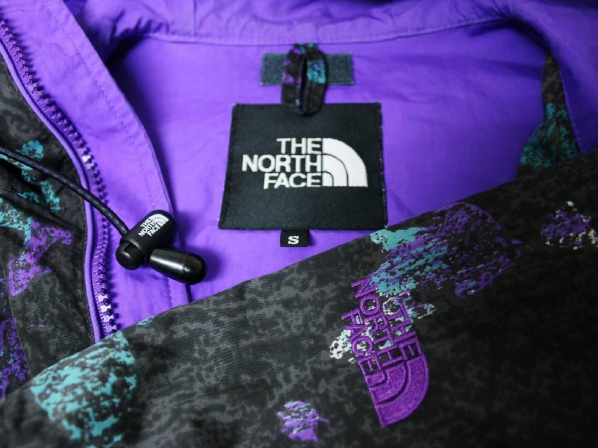 ◆希少◆ノースフェイス プルオーバー アノラック ナイロン マウンテン パーカー ヴィンテージ THE NORTH FACE 80s 90s ウインドブレーカー_画像4