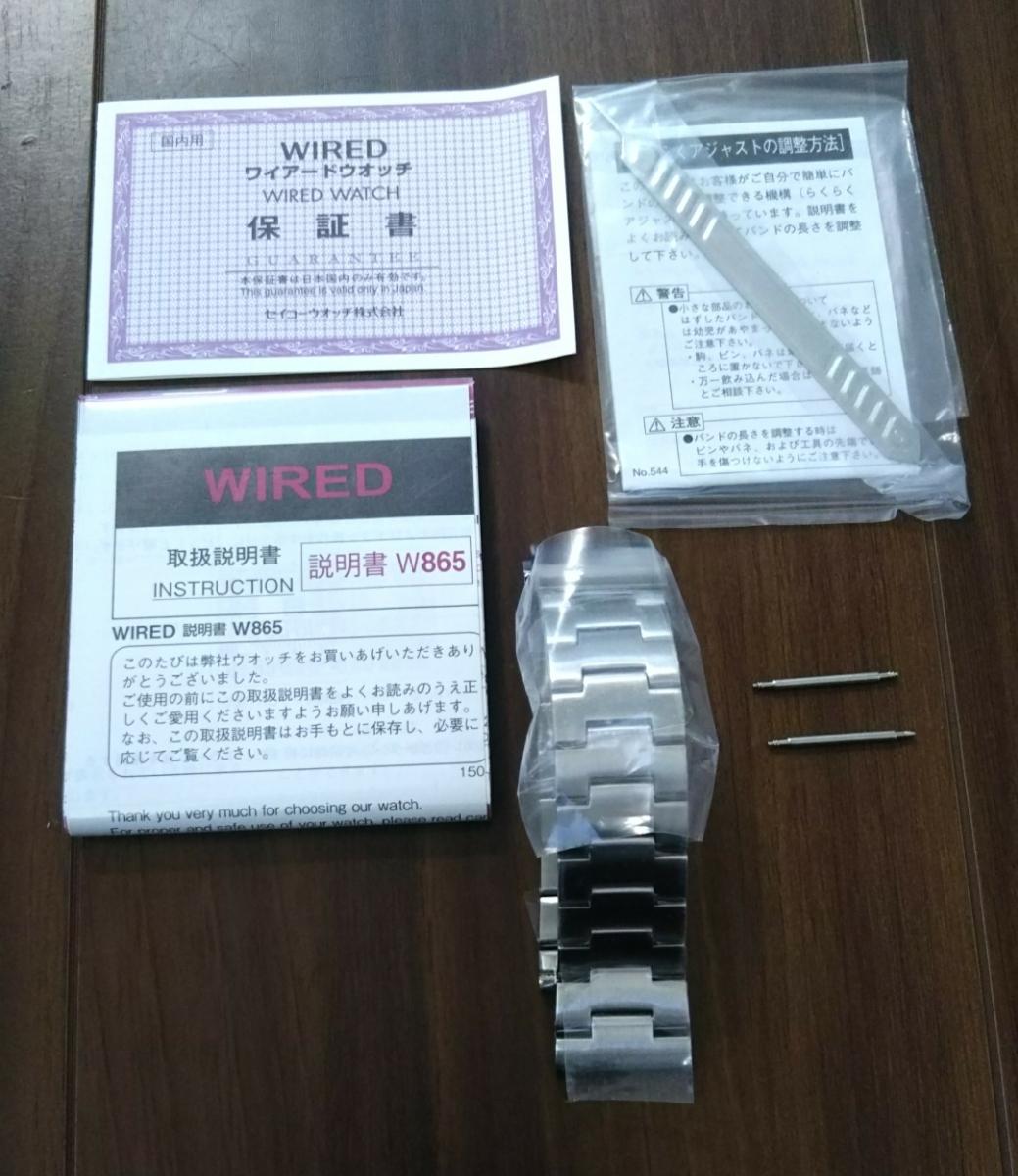 ワイアード デジボーグ 腕時計 WIRED ×METAL GEAR SOLID V:THE PHANTOM PAIN メタルギアソリッド コラボレーションウオッチ中古品 _画像4