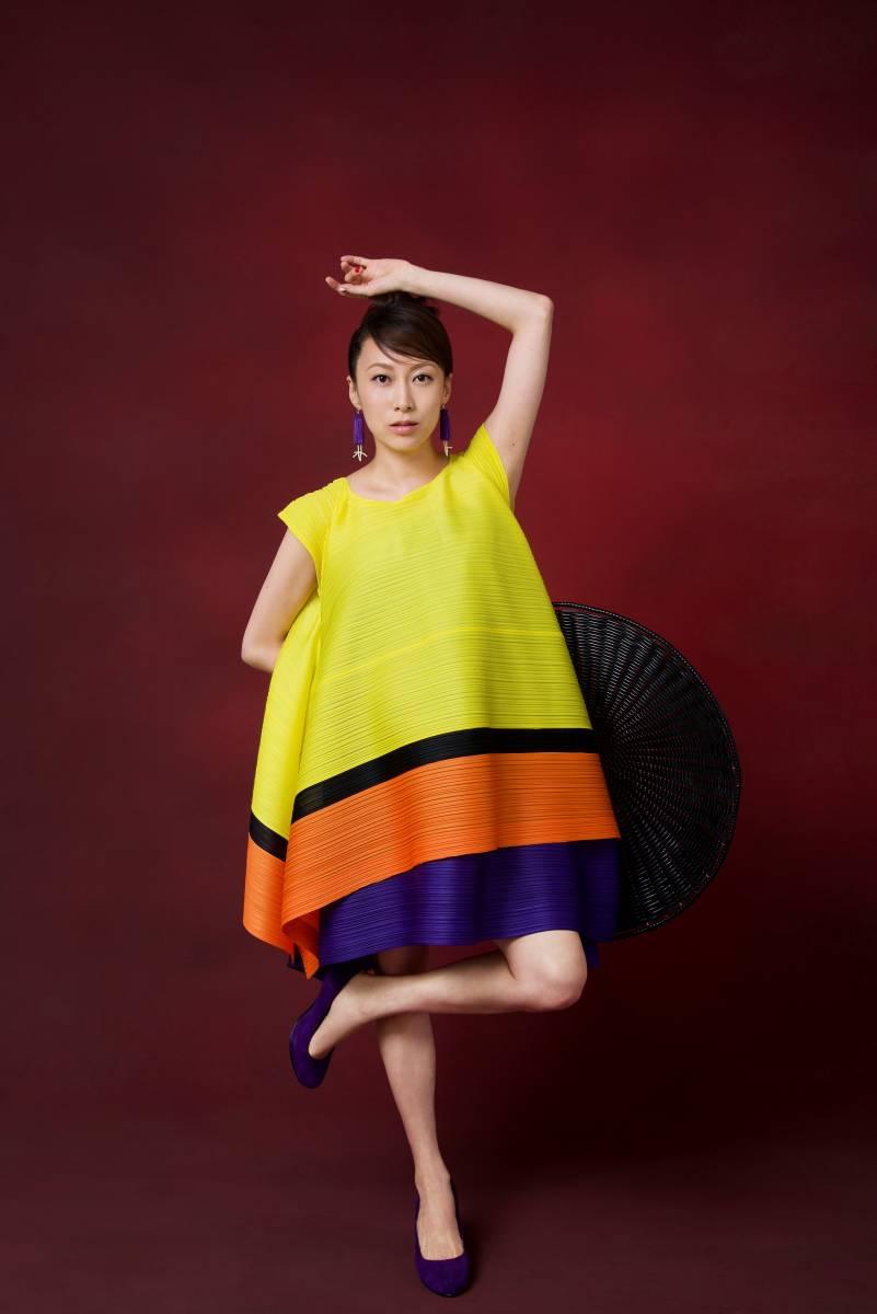 【3.11チャリティー】一青窈 アーティスト写真撮影着用衣装(トップス、スカート) rfp