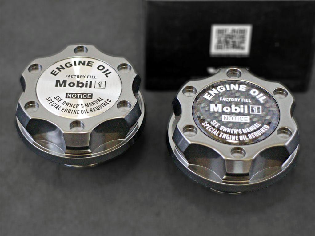 米VMS アルミ製オイルキャップ アルファード ヴェルファイア 10 20系 ガンメタ T2_高品質なT6061アルミニウム製本体