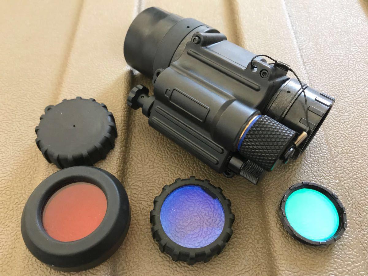 実物 PVS-14 A2 gen3ナイトビジョン omni7 L3(litton) オートゲート管搭載 おまけ付き 検