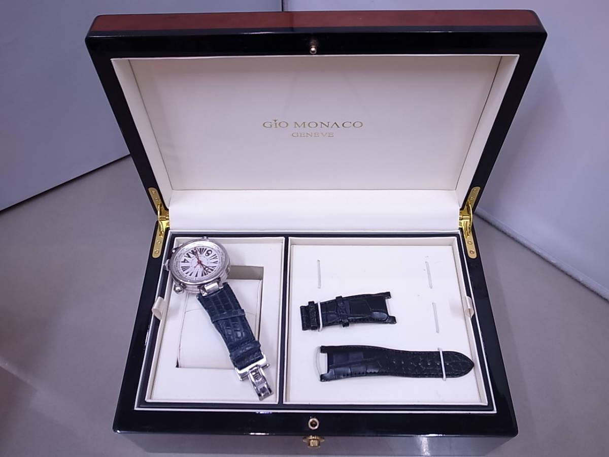 ◆◇ジオモナコ GIO MONACO ジオポリス 325/350 自動巻き メンズ腕時計◇◆_画像1