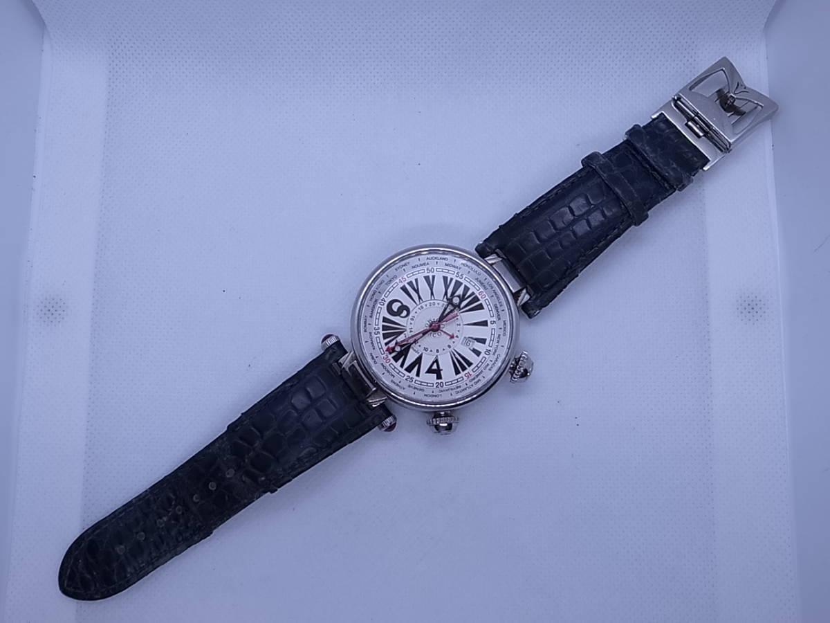 ◆◇ジオモナコ GIO MONACO ジオポリス 325/350 自動巻き メンズ腕時計◇◆_画像3