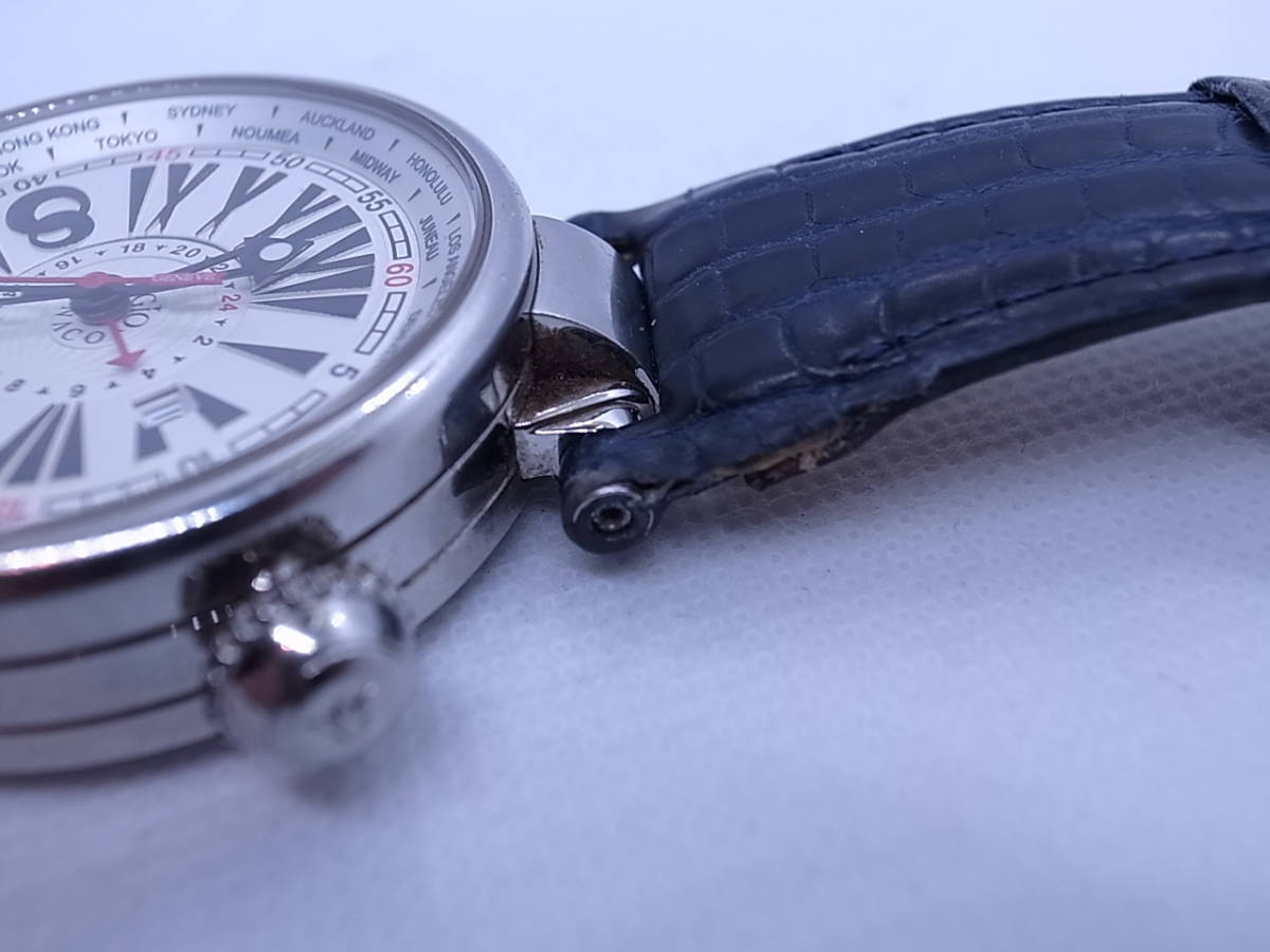 ◆◇ジオモナコ GIO MONACO ジオポリス 325/350 自動巻き メンズ腕時計◇◆_画像4