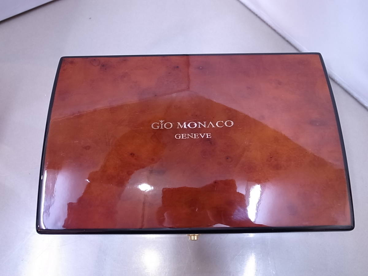 ◆◇ジオモナコ GIO MONACO ジオポリス 325/350 自動巻き メンズ腕時計◇◆_画像9