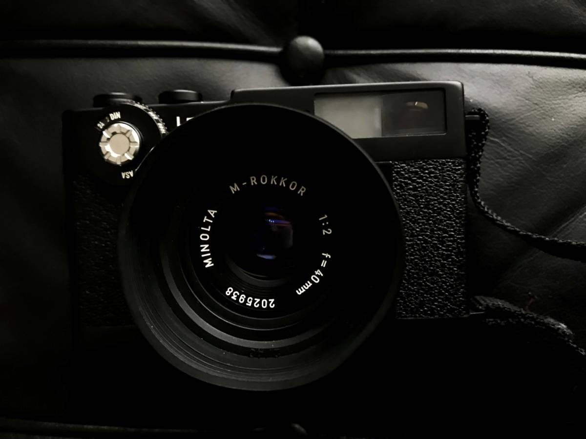 美品 LEITZ MINOLTA CL / No.1037652 M-ROKKOR 1:2 f=40mm/防湿庫保管/良品  Leica フィルター付き_画像6